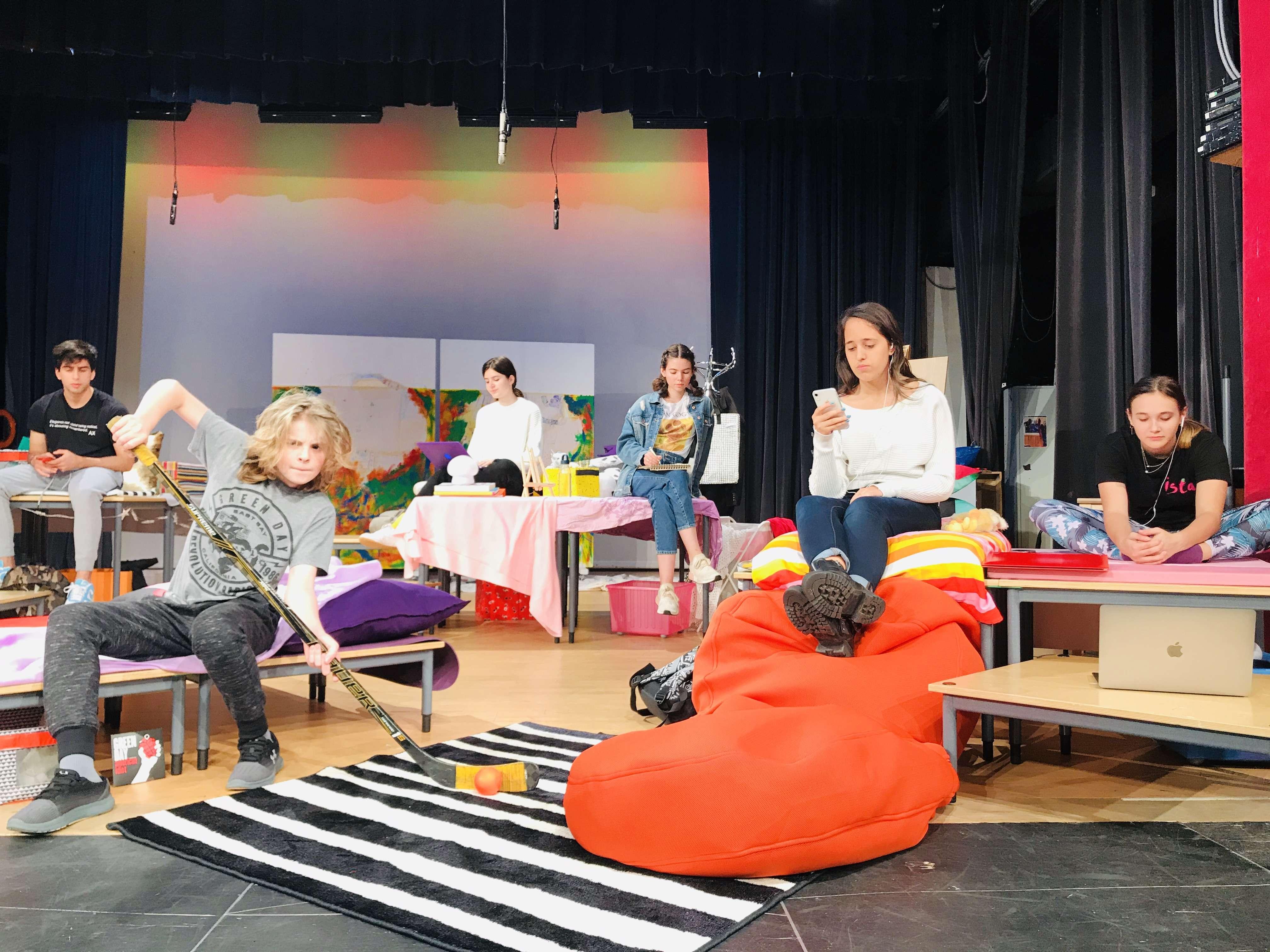 High School Play 'Brainstorm'  Next Thursday and Friday