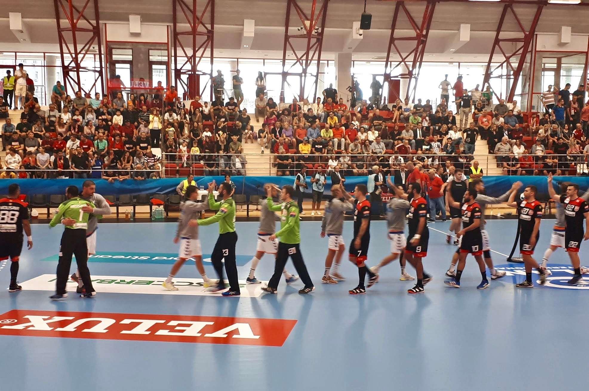 On-the-Ground Coverage: The Dinamo Bucuresti vs. IFK Kristianstad Handball Match
