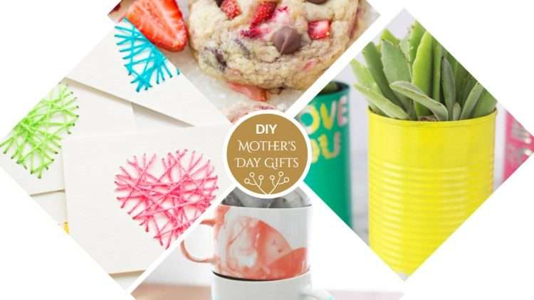 5 Affordable DIY Presents for Mother's Day