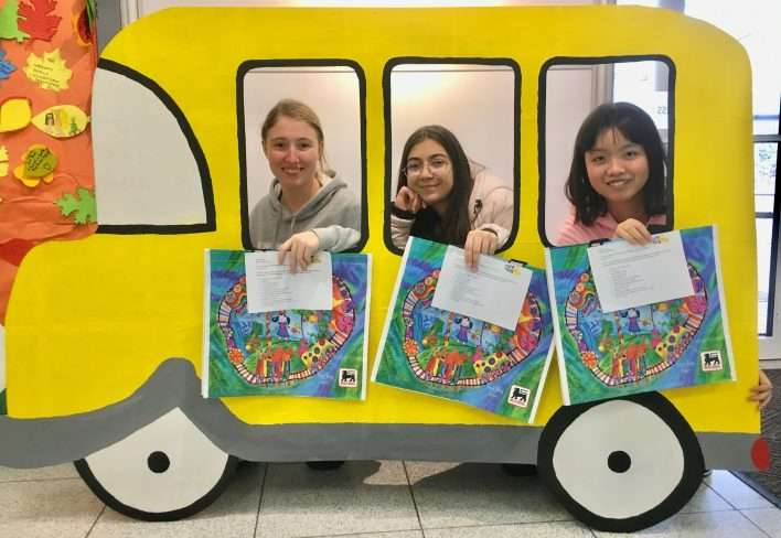 Stuff the Bus is back at AISB to support families in Berceni