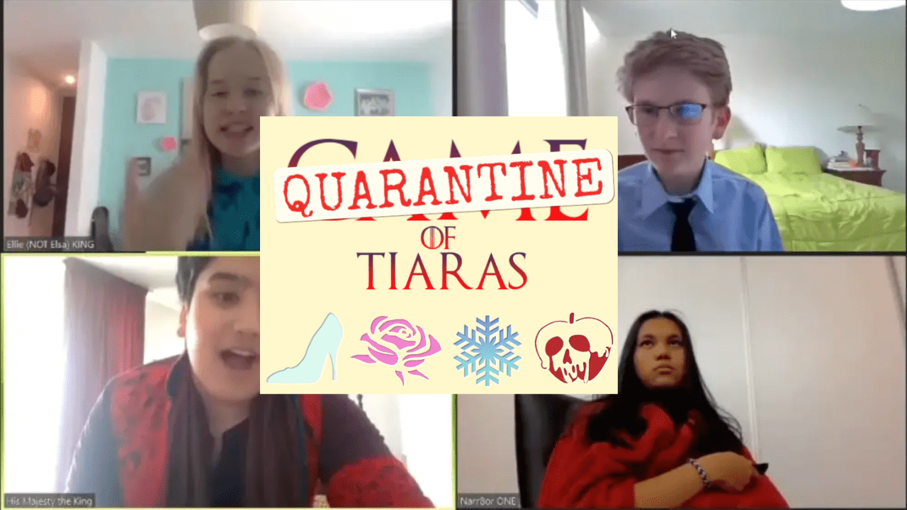 WATCH: Middle School Production 'Game of Tiaras' Turns into 'Quarantine of Tiaras'