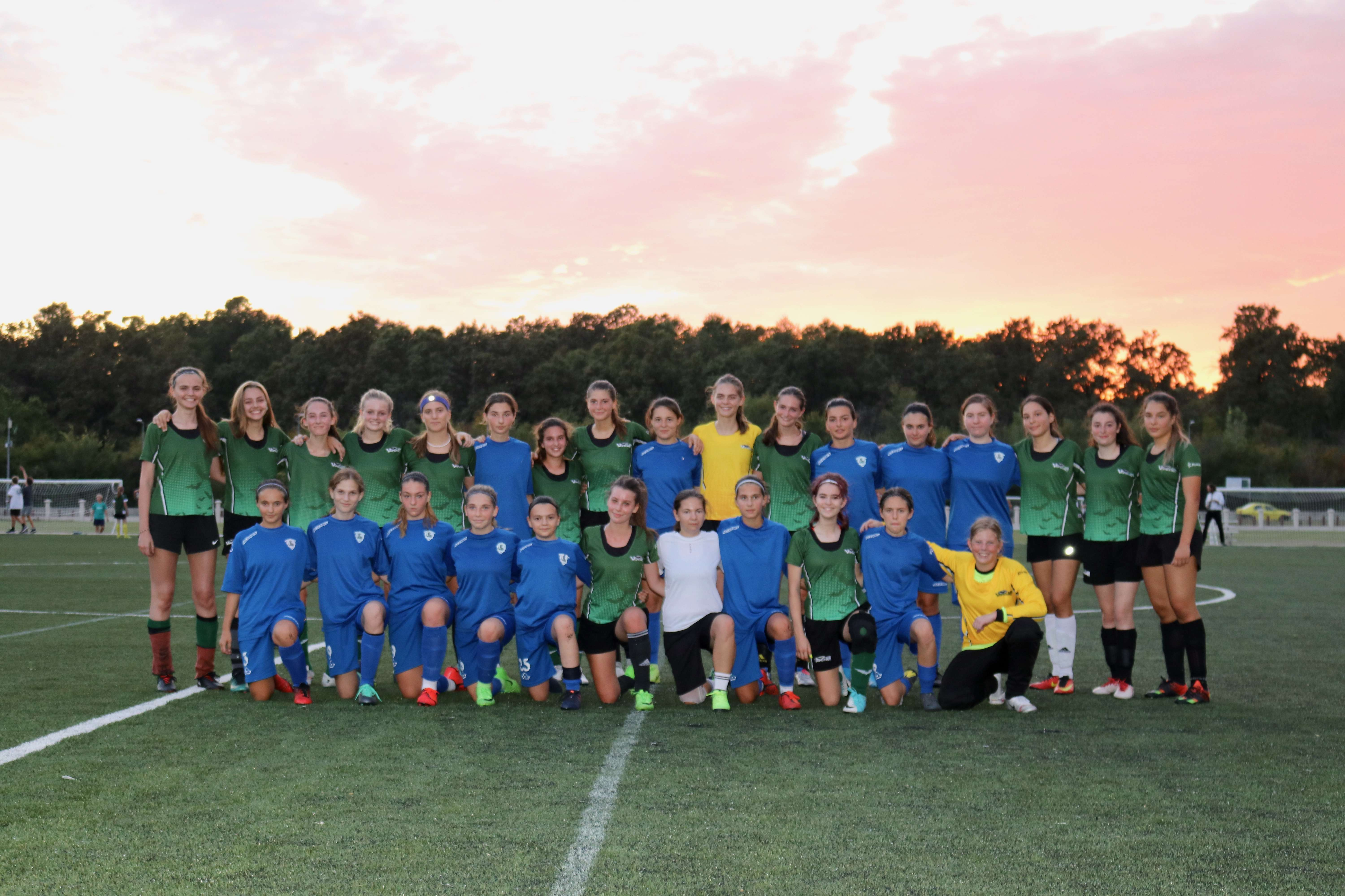 AISB Girls Football Takes on The Dream Team in the Season's First Match
