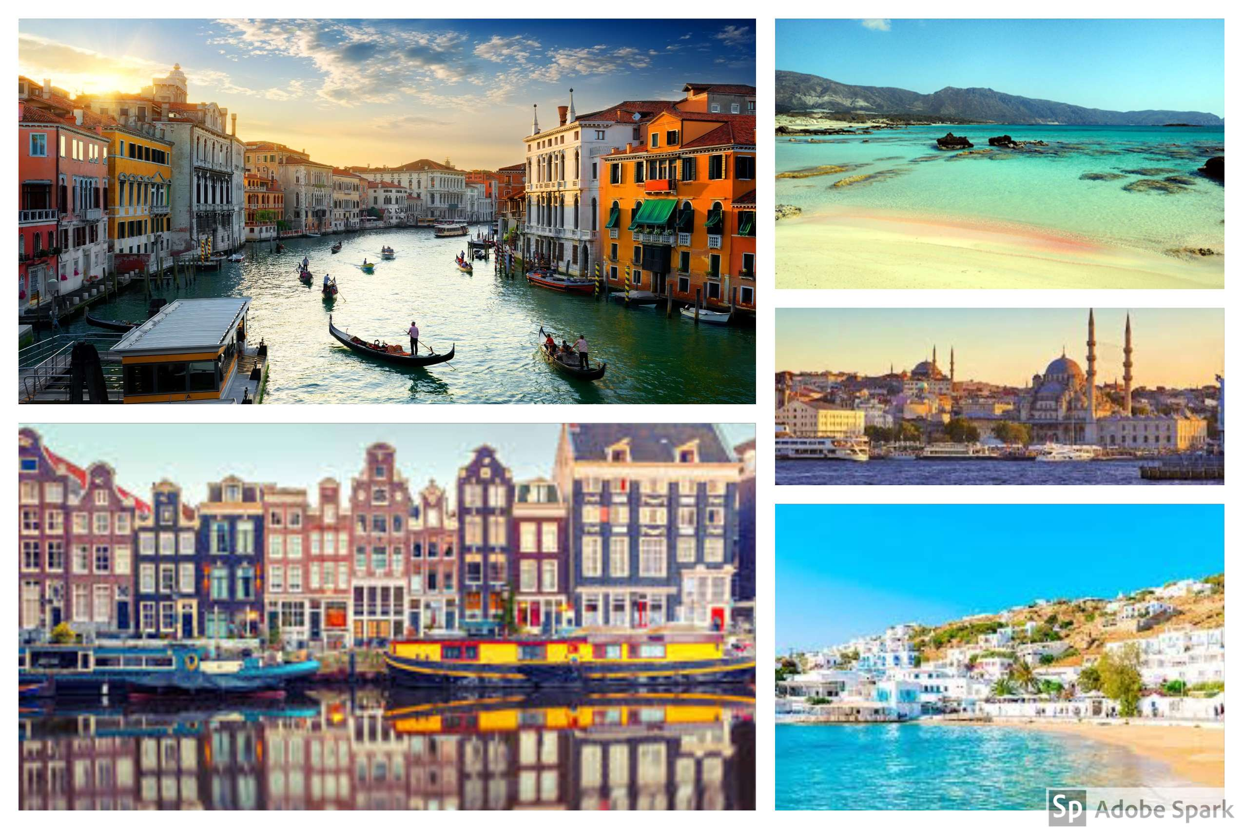 5 of the Best Destinations to visit in Europe this April​ Break