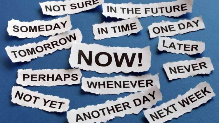 Procrastination: The Art of Being Lazy