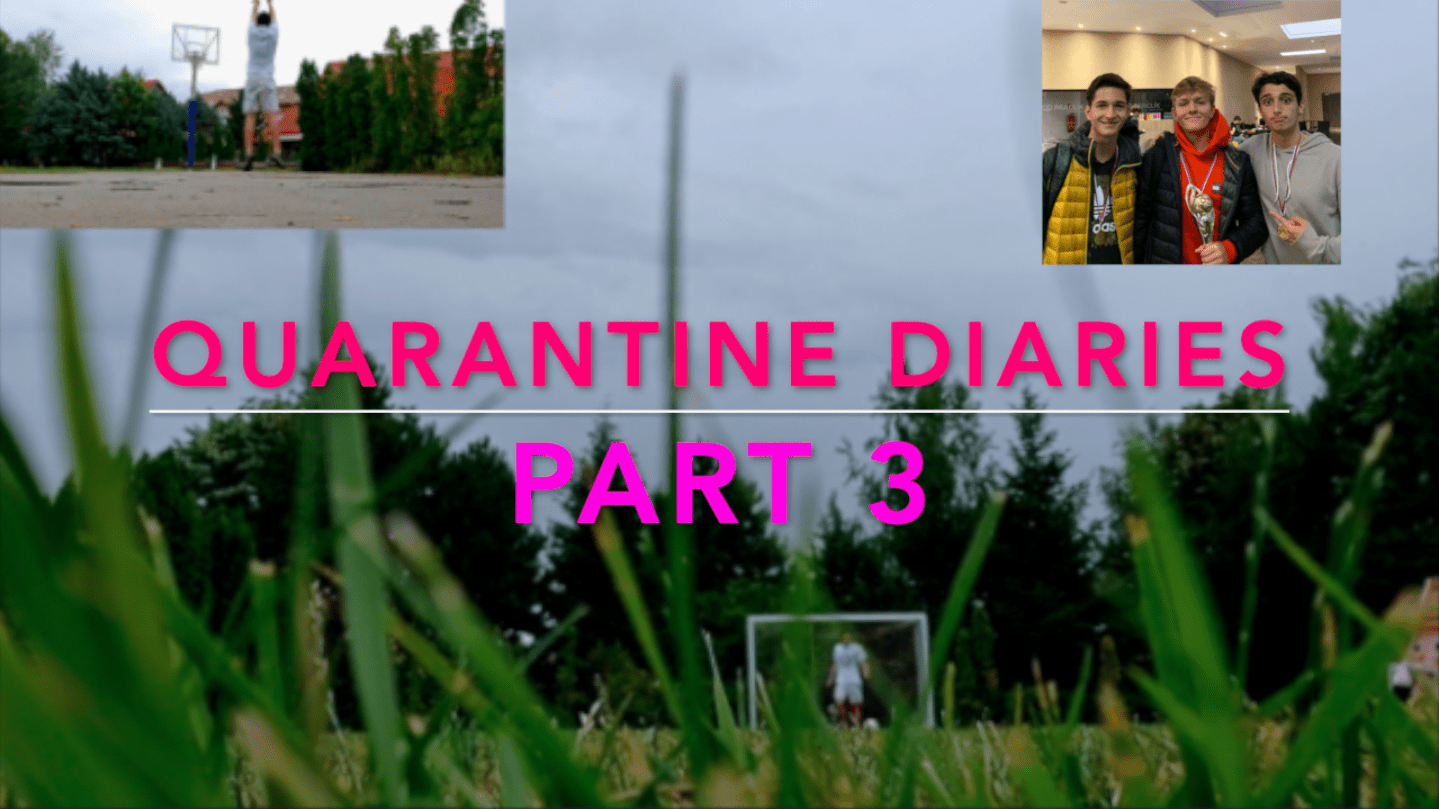 WATCH: YOAV'S QUARANTINE DIARIES, VLOG EDITION PART 2 (The End)