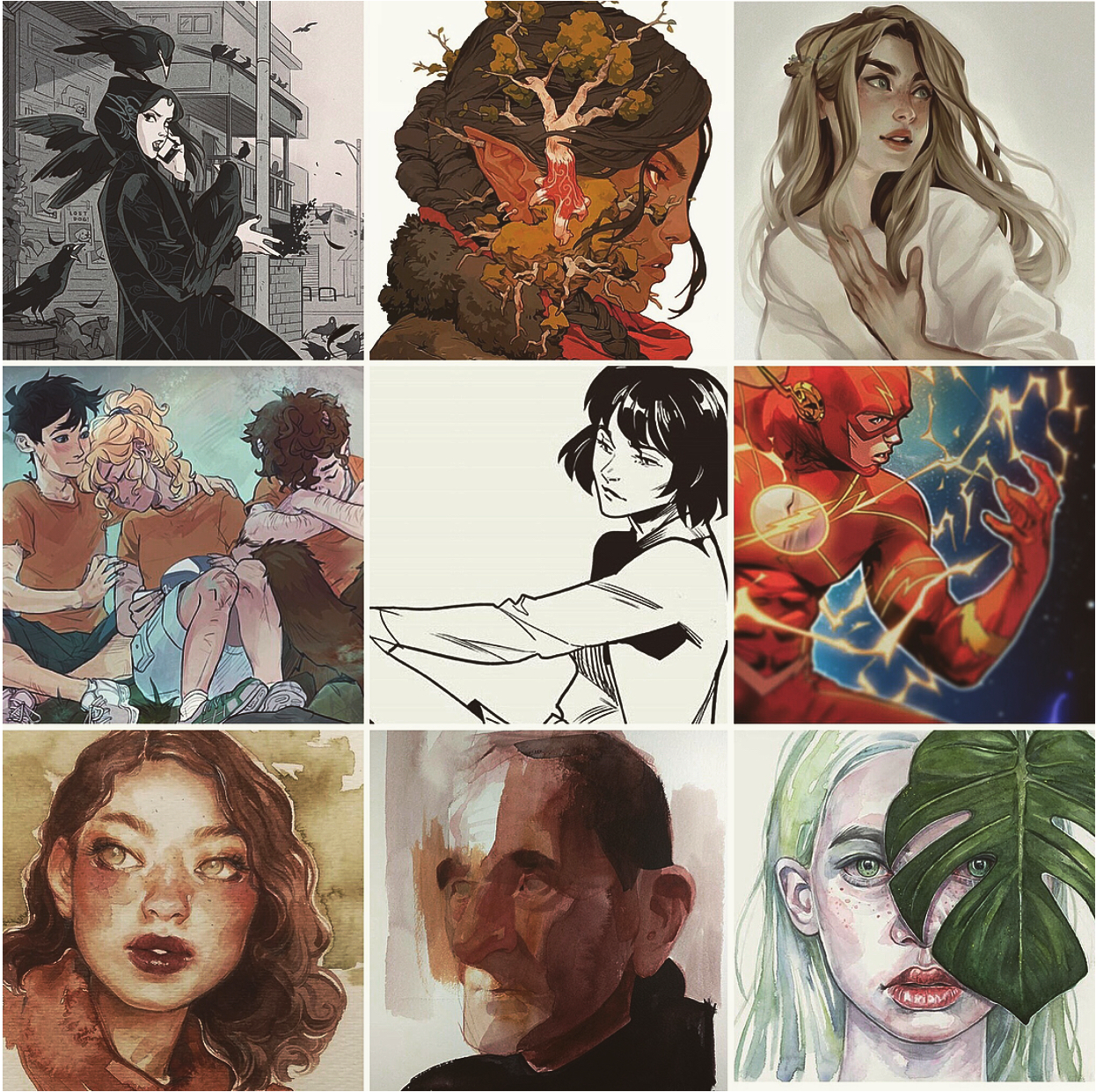 Top 10 Instagram ARTISTS YOU SHOULD BE FOLLOWING