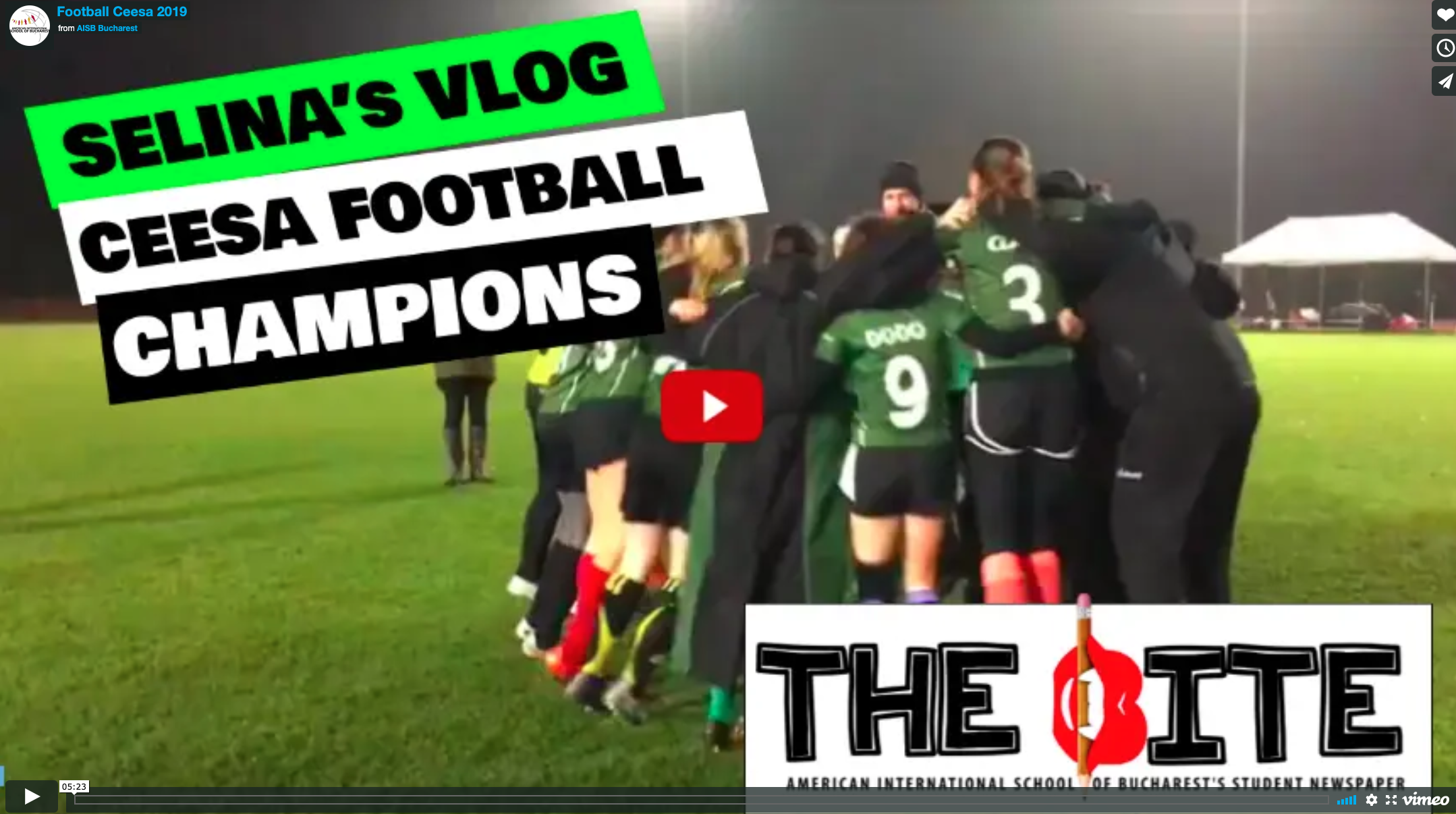 Watch: Vlog Coverage from Varsity Girls' Football Trip to Budapest