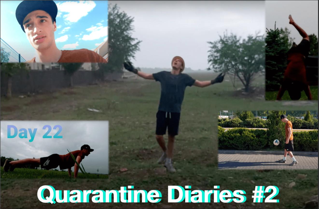 WATCH: YOAV'S QUARANTINE DIARIES, VLOG EDITION PART 2
