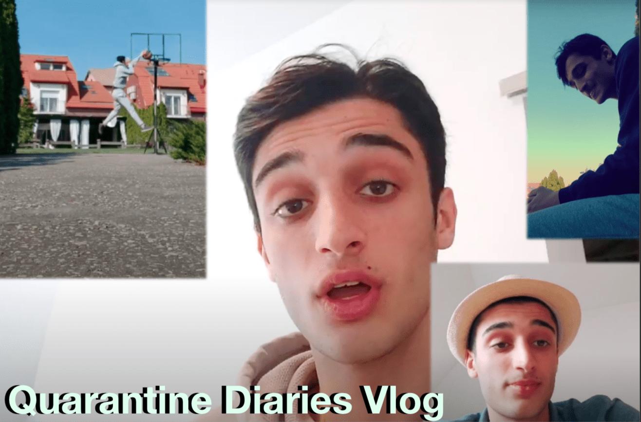 Watch: Yoav's Quarantine Diaries, Vlog Edition