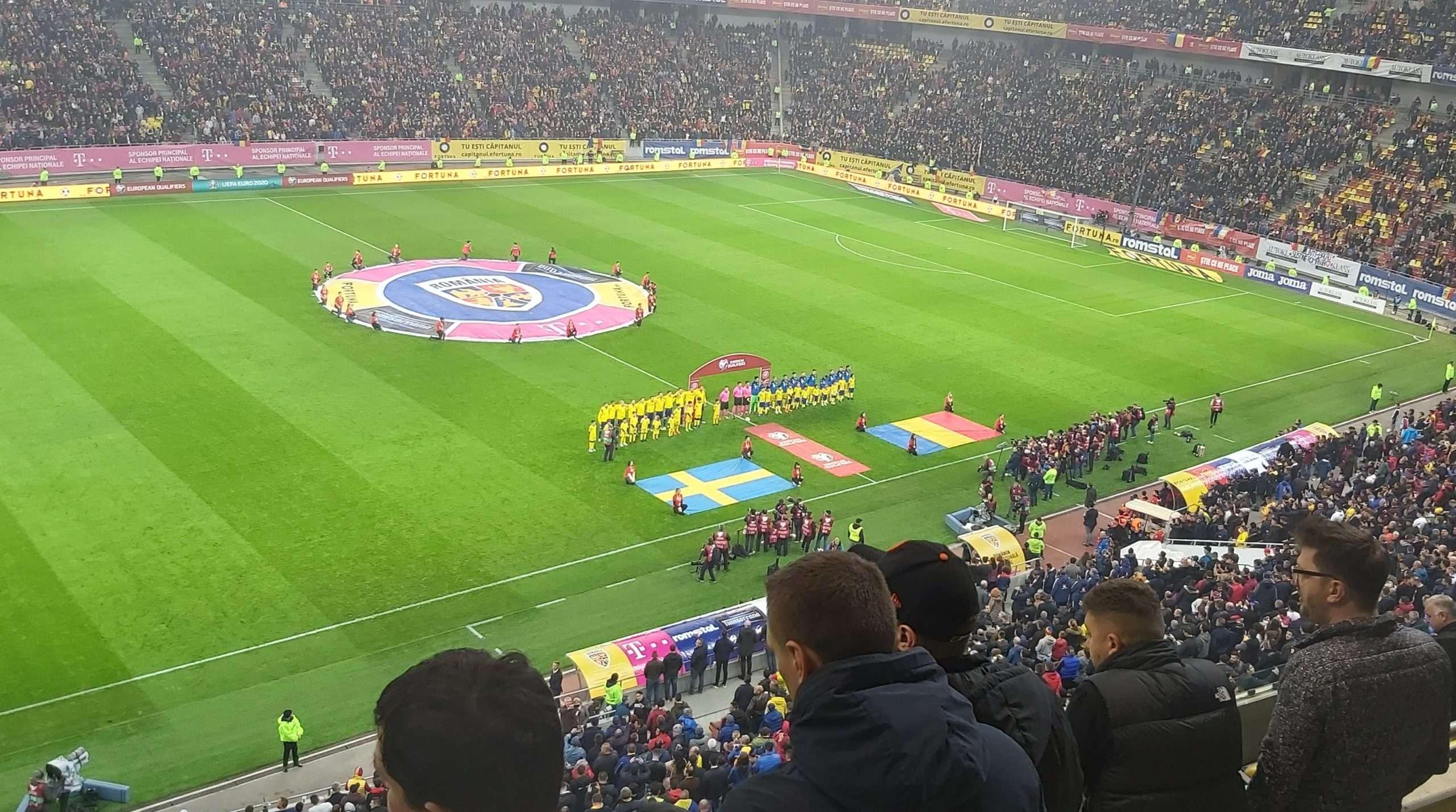 Match Report: Romania vs Sweden in the Euro 2020 Qualifiers