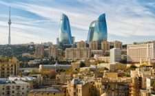 Flame Towers Baku, Azerbaijan