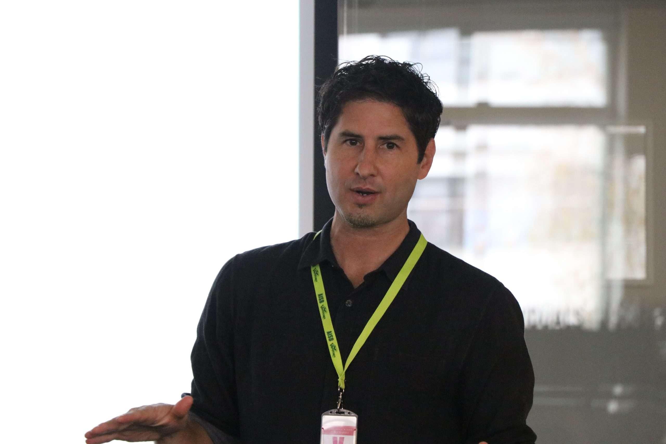 Award-Winning Author Matt de la Peña Visits AISB